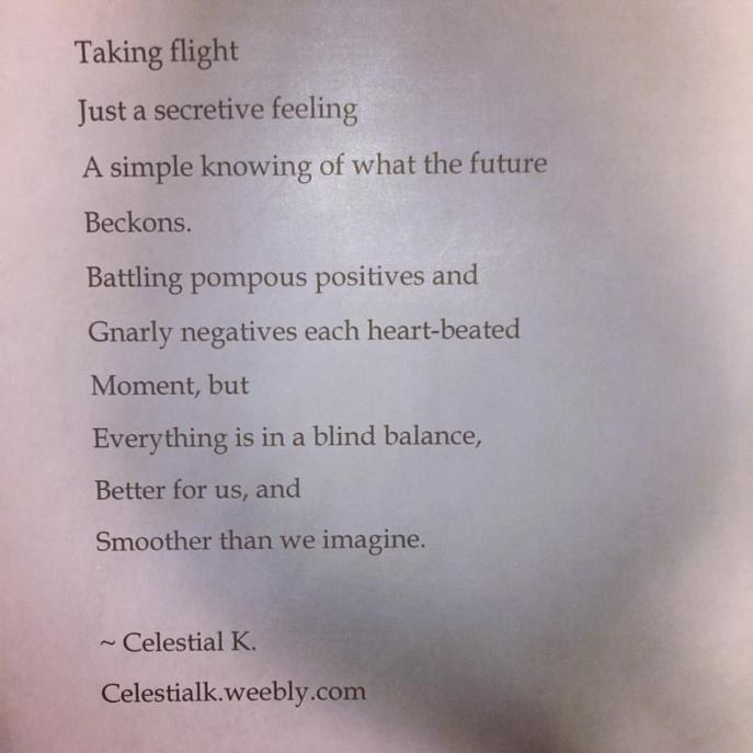 taking flight poem